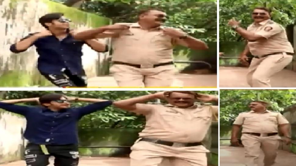 'आया है राजा...', पाहा, मुंबई पोलीस कर्मचाऱ्याचा अफलातून डान्सचा व्हायरल व्हिडीओ