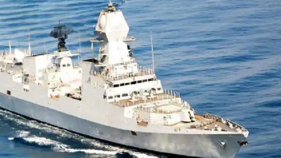 भारतीय हद्दीत घुसखोरी करणारे पाकिस्तानचे जहाज पकडले, 12 जण ताब्यात