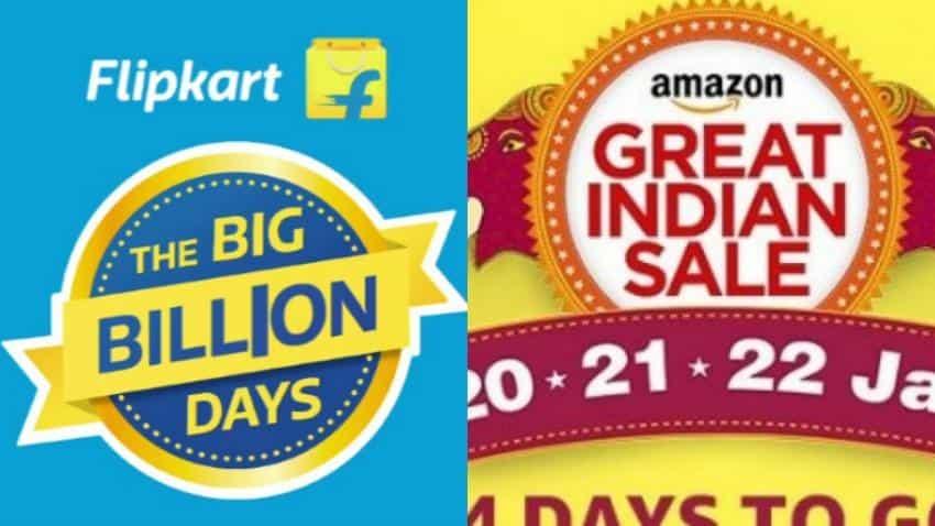 Flipkart आणि Amazon वर BIG Sale, फोनसह या वस्तूंवर मिळणार मोठी ऑफर