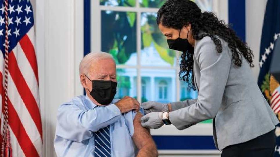 अमेरिकेचे राष्ट्राध्यक्ष जो बायडन यांनी घेतला बुस्टर डोस, लोकांना केलं 'हे' आवाहन
