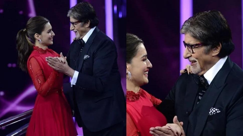kriti Sanon ने बिग बींसोबत रोमॅन्टिक डान्स करत दिली प्रेमाची कबुली, पण…