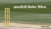 आयसीसी रँकिंग : टेस्ट, वनडे आणि टी-२०