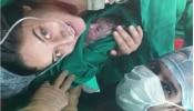 माहीचा डिलीव्हरी रूममधील फोटो व्हायरल;  सांगितला बाळाला जन्म देताना आलेला अनुभव