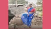 गाईसमोर घाणेरडा डान्स करणाऱ्या महिलेला गाईने शिंगावर घेतलं आणि टाकलं....'