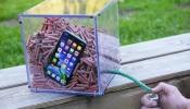 iPhone 11 Pro ला फटाक्यांच्या बॉक्समध्ये ठेवला आणि फटाके पेटवले....पुढे फोनचं काय झालं तुम्हीच पाहा