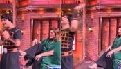 The Kapil Sharma Show : अर्चना पूरन सिंगने रागात कृष्णा अभिषेकला मारली लाथ
