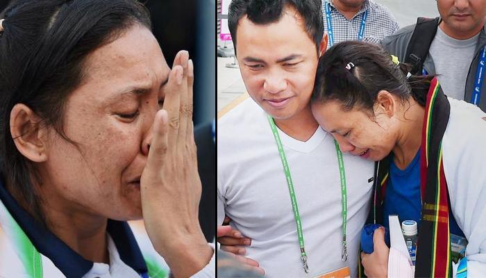 पंचांच्या चुकीच्या निर्णयाचा बळी; ढसाढसा रडली सरिता देवी