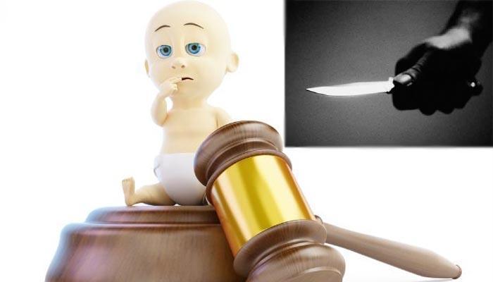 धक्कादायक: कौटुंबिक वादातून १७ दिवसाच्या चिमुरड्याचं गुप्तांग कापलं