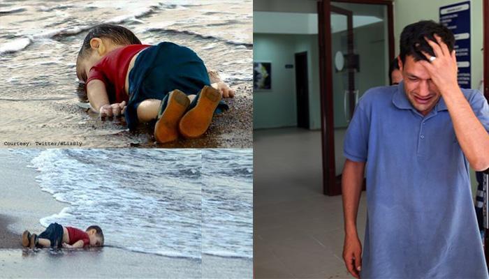 """वेदनादायक चित्र : सीरियन मुलाचे वडील म्हणाले, """"माझ्या हातातून आयलानचा हात सुटला"""""""