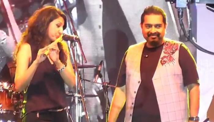 व्हिडीओ | गायक शंकर महादेवन-रसिका शेखरची जुगलबंदी