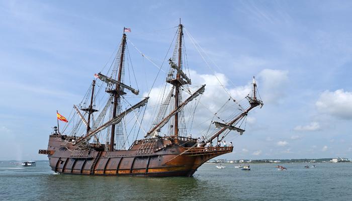समुद्रात सापडलं खजिना असलेलं जहाज