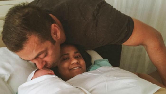 बहीण अर्पिताच्या बाळासोबत 'सलमान मामाचा' हळवा क्षण