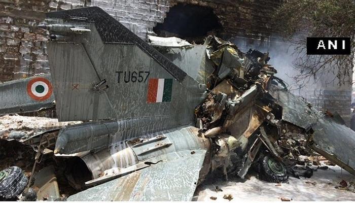 वायुदलाच्या विमानाला अपघात, वैमानिक सुरक्षित