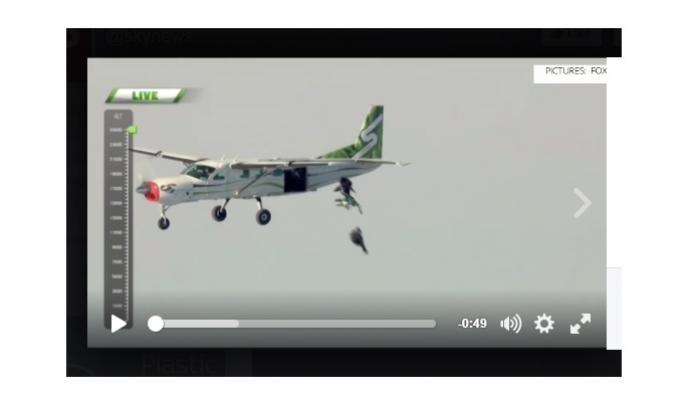 पॅराशूटशिवाय घेतली 25 हजार फूटांवरून उडी