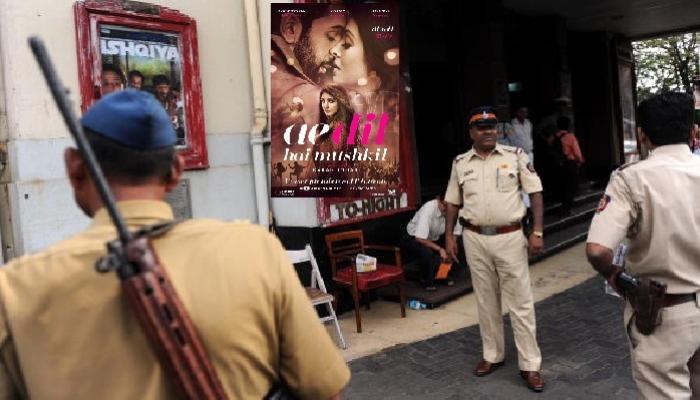 'ऐ दिल है मुश्किल'ला मुंबई पोलीस पुरवणार सुरक्षा