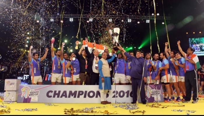 कबड्डीमध्ये पुन्हा फडकला तिरंगा, भारत विश्वविजेता