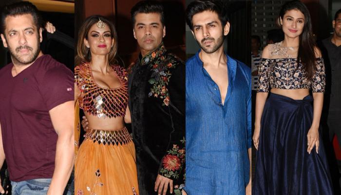 अर्पिता खानच्या दिवाळी पार्टीला बॉलिवूड स्टार्सची उपस्थिती...