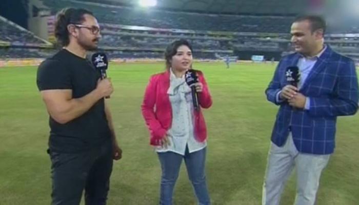 अन् आमिर खानला भारतीय महिला संघाच्या कॅप्टनचं नाव  सुचेना .....