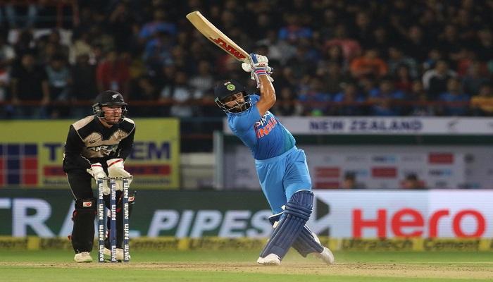 न्यूझीलंडचा भारतावर दमदार विजय, मालिकेत १-१ अशी बरोबरी