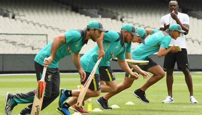 PICS : उसेन बोल्टची ऑस्ट्रेलियन क्रिकेट टीमसाठी निवड