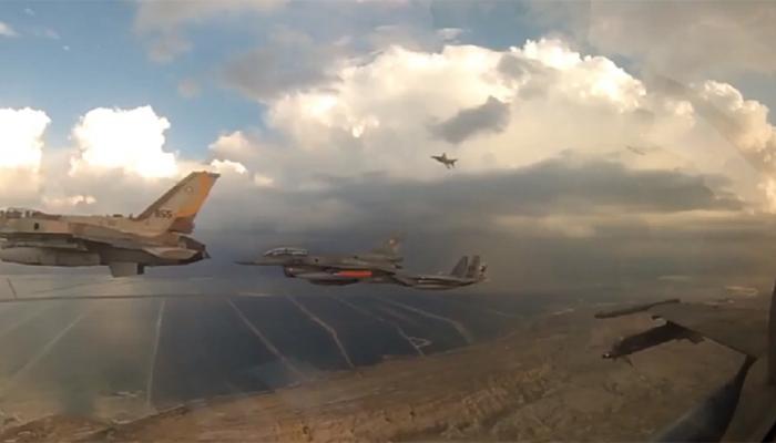 हमासच्या रॉकेट हल्ल्याला इस्रायलच्या विमानांनी दिलं प्रत्यत्तर!