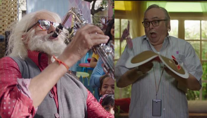 व्हिडिओ : तब्बल २७ वर्षानंतर बिग बी आणि ऋषी कपूर पुन्हा एकत्र