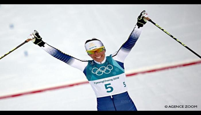 Winter Olympics 2018: स्वीडनच्या कॅरोलेटने जिंकले पहिले सुवर्ण पदक