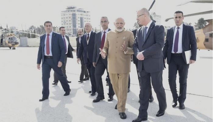 पंतप्रधान मोदींच्या सुरक्षेसाठी आले जॉर्डन आणि इस्राईलचे चॉपर
