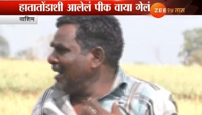 व्हिडिओ :...जेव्हा धाय मोकलून रडतो शेतकरी!
