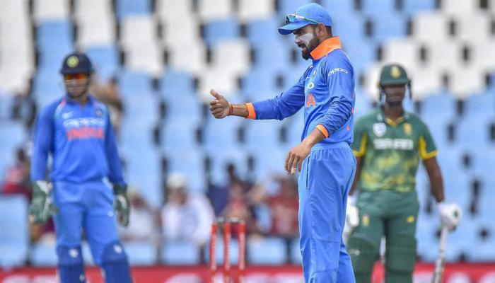 पहिली टी-20 : दक्षिण आफ्रिकेनं टॉस जिंकला, भारतीय टीममध्ये बदल