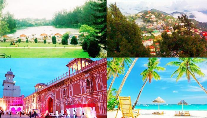 भारतातील सुंदर अशी ५ पर्यटनस्थळे!