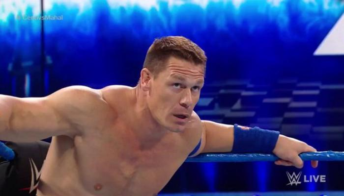 WWE व्हिडिओ: केनविरूद्ध जॉन सीनाने केली अंडरटेकची नक्कल