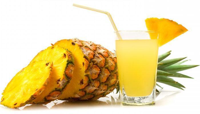 अननसाचा रस पिण्याचे भरपूर फायदे