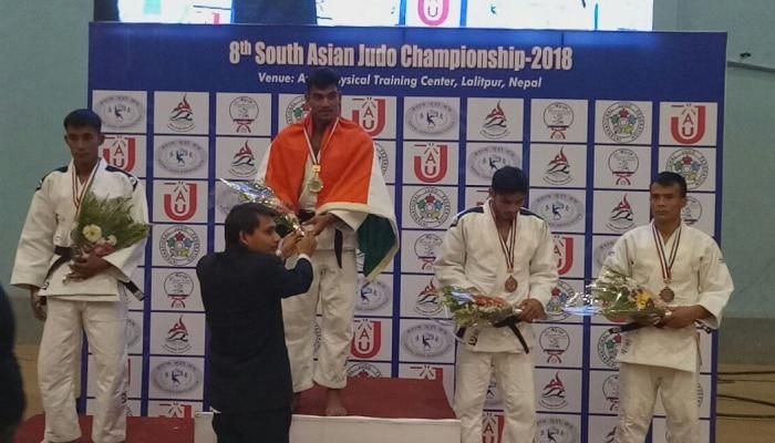 दक्षिण आशियाई ज्युडो चॅम्पियशिपमध्ये भारताला १० सुवर्णपदक
