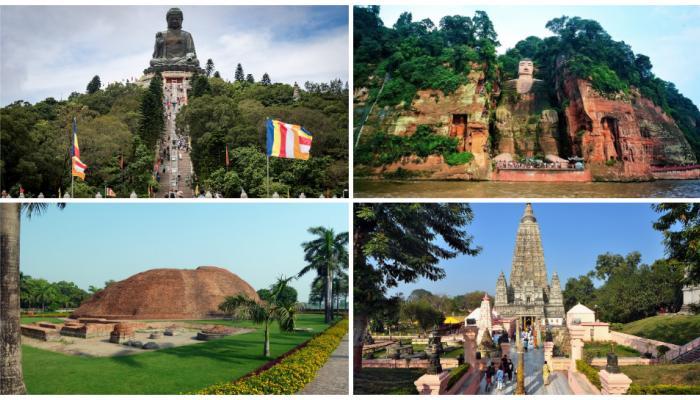... ही आहेत जगातील सर्वात लोकप्रिय आणि प्राचीन बुद्ध मंदिरे