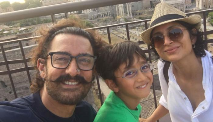 आमीर खान आझादसोबत Vacation Mood वर