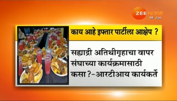 आरएसएसच्या इफ्तार पार्टीला मुंबईत विरोध