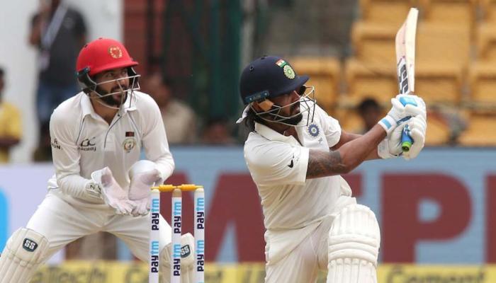 भारत-अफगाणिस्तान टेस्टमध्ये पुन्हा पावसाचा खेळ