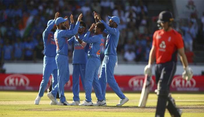इंग्लंडविरुद्धच्या टी-२० मॅचमध्ये झाली एवढी रेकॉर्ड