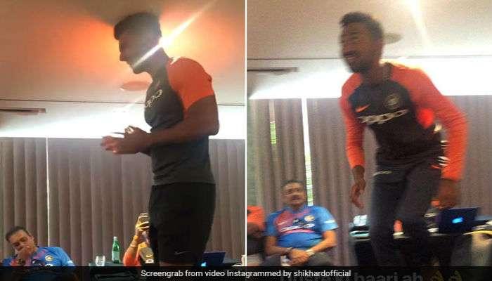 प्रशिक्षक रवी शास्त्रीसमोर भारतीय खेळाडूंचं रॅगिंग