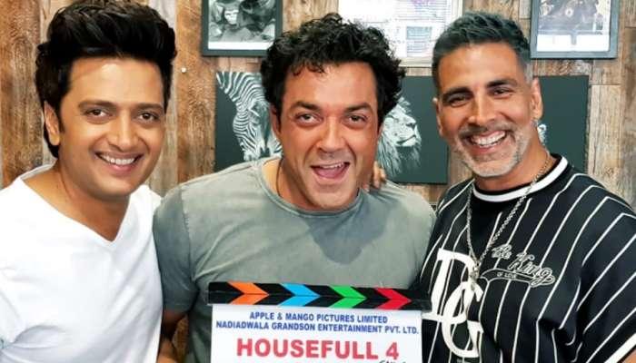 हाऊसफुल्ल 4 च्या शूटिंगला सुरूवात, अक्षय कुमारने ट्विट केला खास फोटो