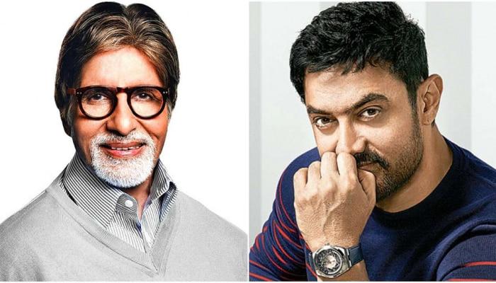 बीग बी आणि आमिर खान सर्वात महागड्या सिनेमात एकत्र दिसणार