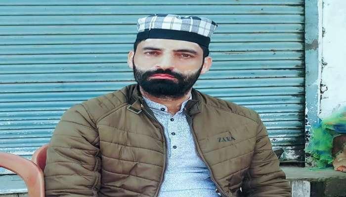 जम्मू - काश्मीर : पुलवामामध्ये भाजप कार्यकर्त्याला दहशतवाद्यांनी घरात घुसून गोळी मारली