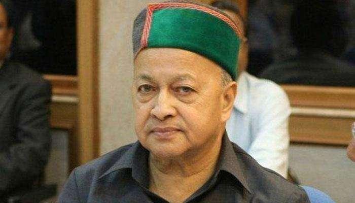 प्रकृती बिघडल्याने हिमाचलचे माजी मुख्यमंत्री वीरभद्र सिंह रुग्णालयात दाखल