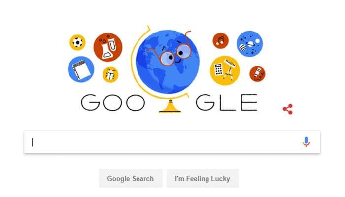 Teachers Day : गूगलने डूडल बनवून शिक्षकांना दिला सन्मान