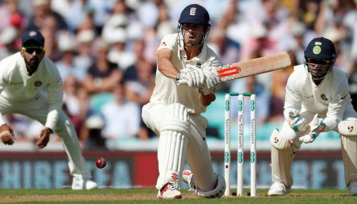 इंग्लंडचा डाव ४२३ रनवर घोषित, भारताला विजयासाठी ४६४ रनची गरज