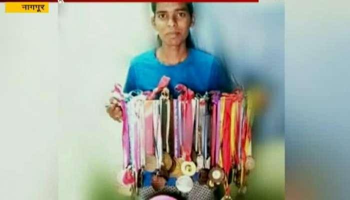 Nagpur Special Report On Runner Prajakta Godbole Who Win Cross Country Companionship