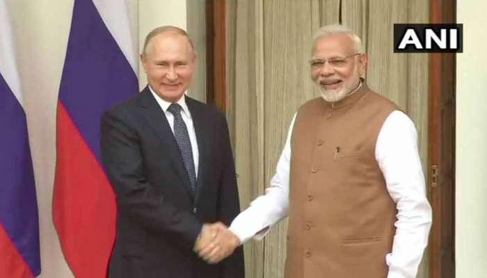भारत-रशिया दरम्यान एस ४०० क्षेपणास्र खरेदी करारावर स्वाक्षऱ्या