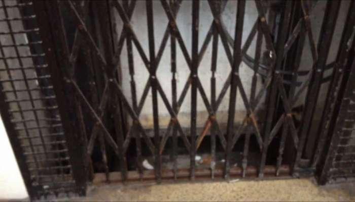 लिफ्टमध्ये अडकून चिमुरडीचा मृत्यू