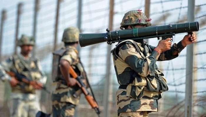 सुरक्षा रक्षकांची सीमेवरून 2 पाकिस्तानी घुसखोरांना अटक